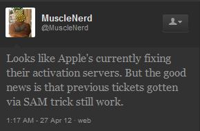 SAM desimlock iPhone bloqué par Apple