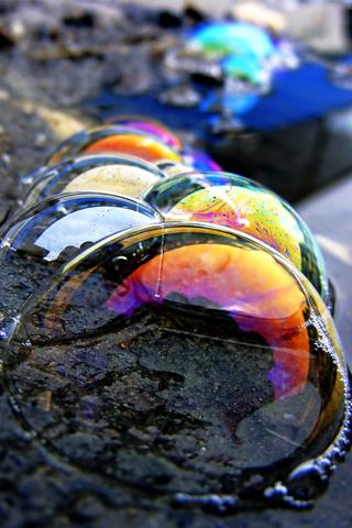 3D-Colorful-Bubbles