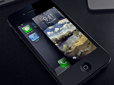 Unfold to unlock iphone