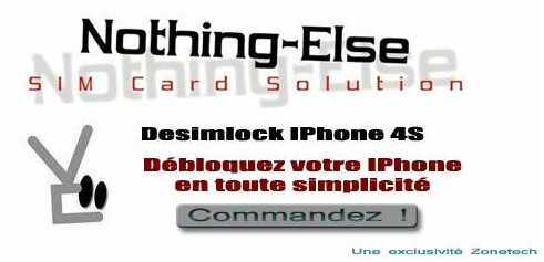Desimlock iPhone Nothing-Else