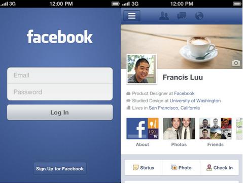 Intégration de Facebook à Venir avec iOS 6