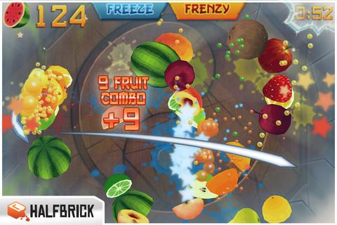 Fruit Ninja mis à jour sur l'App Store