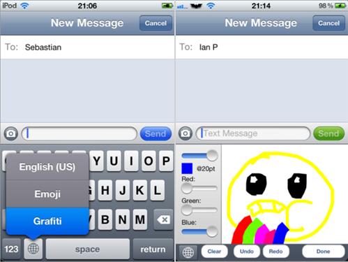 le fait de rajouter le clavier secondaire va permettre dactiver licne monde sur le clavier cette icne vous permet de passer aux claviers alternatifs - Dessin Avec Emoji