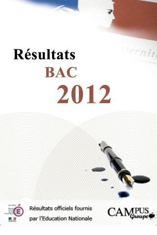 consulter les résultats du bac 2012
