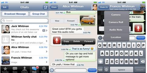 WhatsApp Messenger est mis à jour avec des messages cryptés