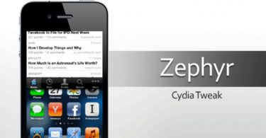zephyr tweak cydia