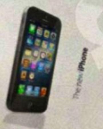 Gros plan iPhone 5
