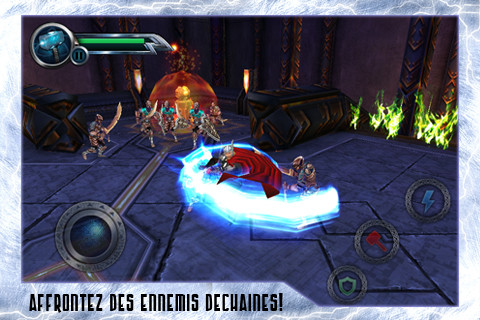 Thor sur iPhone