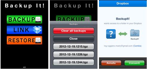 Backupit cydia iphone