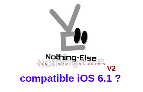Nothing Else V2 compatible iOS 6.1 ?