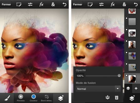 adobe photoshop pour iPhone