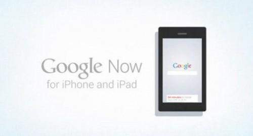 Google Now sur iphone