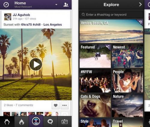 Viddy disponible gratuitement sur l'App Store