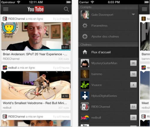Youyube 1.2.1 streaming vidéo