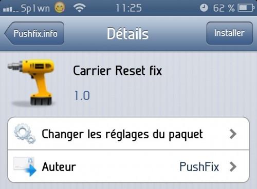 carrier reset fix