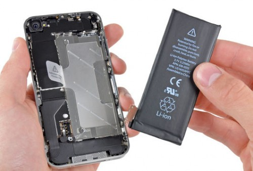 changer batterie iphone 4 - 4S -6