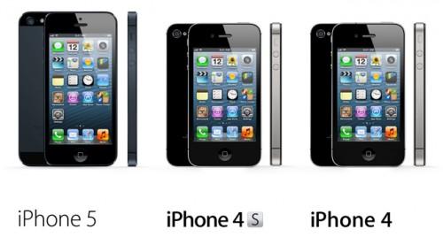 iPhone 5 - iPhone 4S - iPhone 4