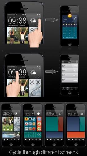 Conceptos thème winterboard HTC-3