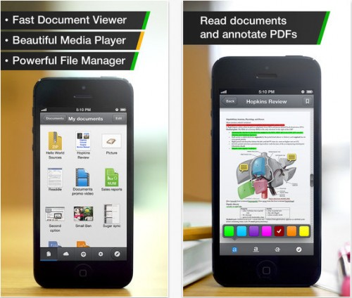 Documents by Readle pour iPhone et iPad