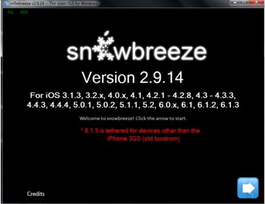 Sn0wbreeze 2.9.14