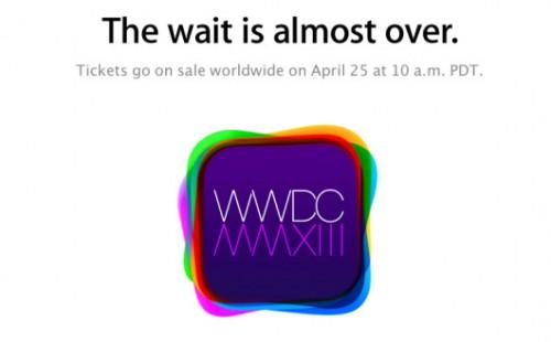 WWDC Apple 25-04-2013