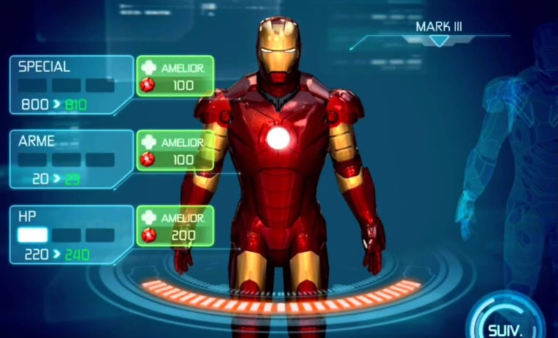Jeu Iron Man Pour Ios Et Android
