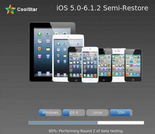 Semi-Restore for iOS 5.0-6.1.2