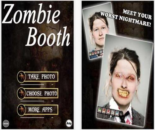 Zombie Booth - Transform Into A Zombie pour iPhone, iPod touch et iPad sur l'iTunes App Store