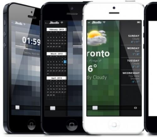 peekly-thème winterboard iPhone