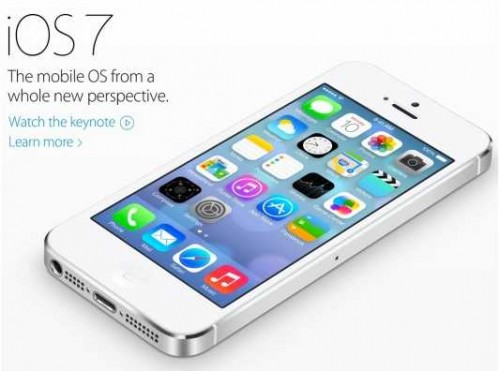 Apple dévoile iOS 7