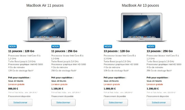 MacBook Air Apple 2013