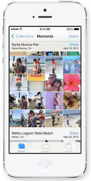 Photos Apple - iOS 7