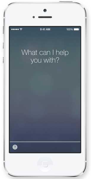 Siri Apple - iOS 7