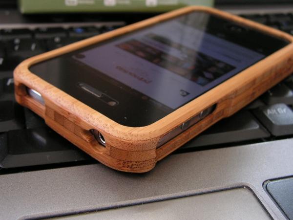 coque bois iphone 4