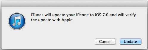 mettre à jour iOS 7 sans enregistrement UDID iPhone