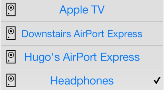 AirPlay iOS 7 beta 4 - Info iDevice