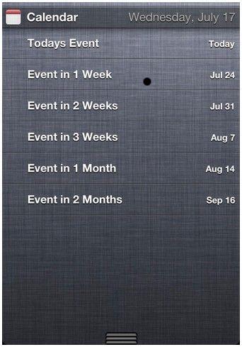 NCCalendar+ tweak cydia calendrier - Info iDevice