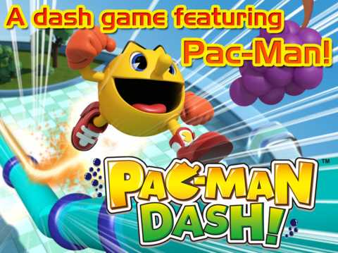 Pac-Man-Dash sur iOS - InfoiDevice