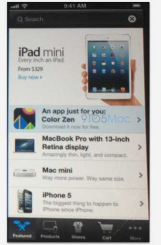 Rumeur Apple Store - Info iDevice