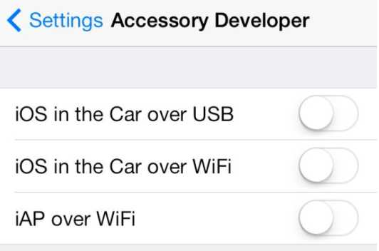 iOS 7 in the car - Info iDevice
