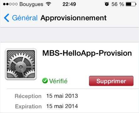 supprimer émulateur GBA sans jailbreak sur iPhone