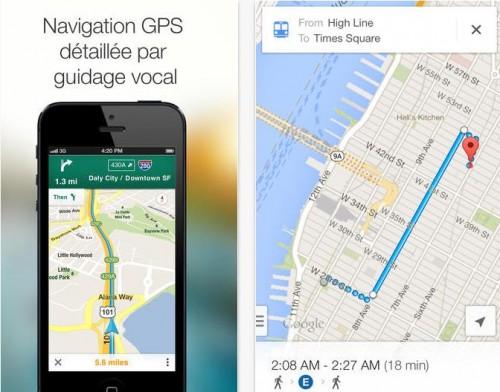 Google Maps 2.2 iOS - Info iDevice