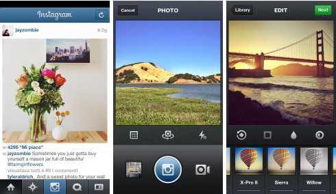 Mise à jour Instagram 4.1 - Info iDevice