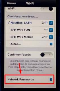 NetworkList - Info iDevice