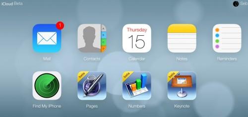 iCloud bêta iOS 7 - Info iDevice