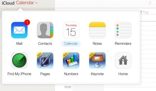 raccourci iCloud beta iOS 7 - Info iDevice