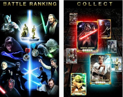 Konami Star Wars Force Collection - Info iDevice