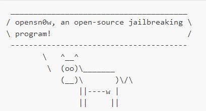 Opensn0w open-source jailbreaking program - Info iDevice