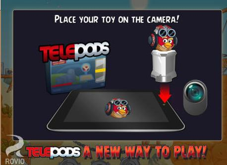 Telepods Angry Birds Star Wars II - Info iDevice