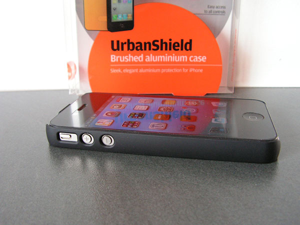 Test Coque iPhone 4 Cygnett UrbanShield - Info iDevice